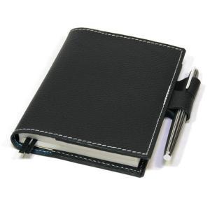 ほぼ日手帳(クオバディスビジネスQUO VADIS) 本革レザーカバー・シボ革ブラック
