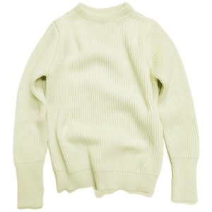 アンデルセンアンデルセン ニット ANDERSEN-ANDERSEN THE NAVY - CREW NECK Off White