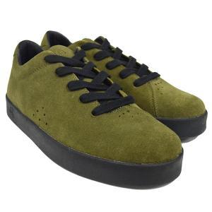 AREth アース MODEL i (lace) MOSS GREEN ashoesselect