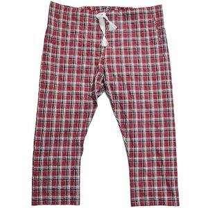エムズブラック m's braque PAJAMA PANTS 15SS RED check|ashoesselect