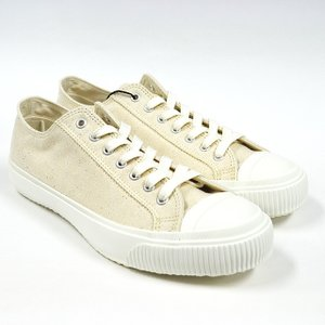 Nigel Cabourn ナイジェルケーボン スニーカー ARMY TRAINERS LOW TOP(MOONSTAR) ECRU 803500062000 ashoesselect