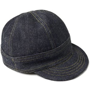 ONE-PIECE OF ROCK ワンピースオブロック DENIM CAP -SHINER-