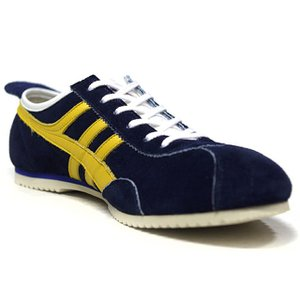 PANTHER パンサー PANTHER GT DELUXE NAVY YELLOW PTJ0010-1807|ashoesselect