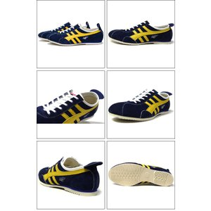 PANTHER パンサー PANTHER GT DELUXE NAVY YELLOW PTJ0010-1807|ashoesselect|02