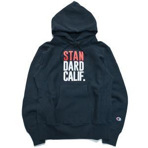 スタンダードカリフォルニア パーカー Standard California CHAMPION×SD Reverse Weave Pullover Hood 16AW