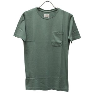 スタンダードカリフォルニア Standard California Tシャツ SD Shield Logo Pocket Crew Neck|ashoesselect