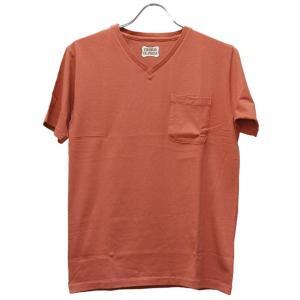 スタンダードカリフォルニア Standard California Tシャツ SD Shield Logo Pocket V Neck|ashoesselect
