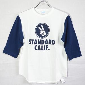 スタンダードカリフォルニア Standard California CHAMPION×SD Baseball T TSBCA128|ashoesselect