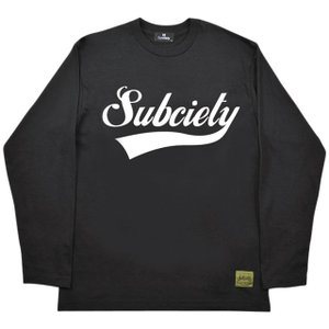 Subciety サブサエティ Tシャツ GLORIOUS L/S 17AW|ashoesselect