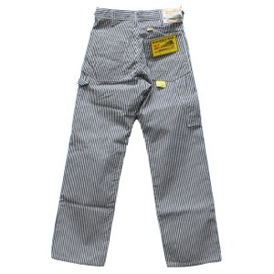 SUGAR CANE シュガーケーン 11oz.HICKORY STRIPE WORK PANTS(ONE WASHED) SC41634 ashoesselect