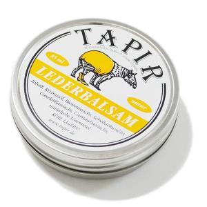 TAPIR オイル タピール レーダーバルサム NATURAL 栄養艶出しワックス|ashoesselect