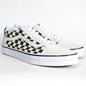 VANS スニーカー オールドスクール バンズ OLD SKOOL Lifestyle (Checkerboard) white/black VN0A38G127K チェッカー|ashoesselect