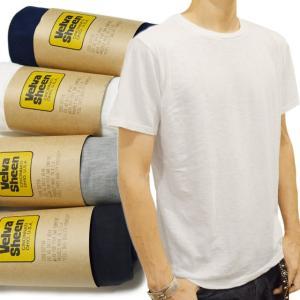 ベルバシーン Tシャツ ROLLED S/S REGULAR TEE Velva Sheen|ashoesselect
