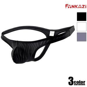 FANKAZi/ファンカジ 波型メッシュ Tバック 男性下着 メンズ パンツ セクシー モッコリ 立...