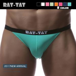 RAT-TAT /ラットタット ビキニブリーフ メンズ ローライズ 男性下着 パンツ 消臭繊維 機能...