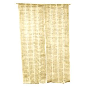 麻のれん / 和風・洋風 / ナチュラルカラー / 透かし編み / 90cm x 150cm / 230-2|asian-dream-net