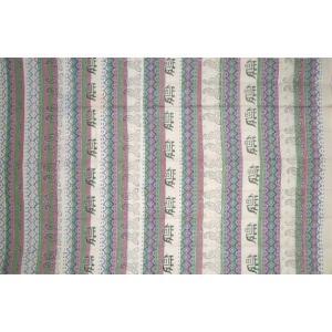 ぞうさんとペイズリーのベッドカバー(145×225cm) / I-BS-62|asian-dream-net