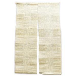 シンプルでスタンダードなデザインと色合い。天然素材麻のれん (約90cm×約150cm) / HN02-0032|asian-dream-net