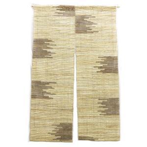 和風デザインと厚手の麻が存在感たっぷり。天然素材麻のれん (約90cm×約150cm) / HN02-0050A|asian-dream-net