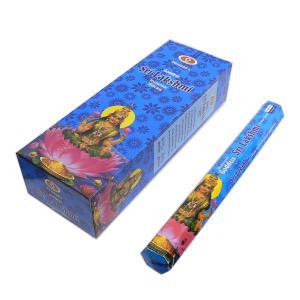 DARSHAN Goddess Sri Lakshmi (ダルシャン ゴッデス シュリー・ラクシュミ) / DARSHANの六角スティックお香6本セット!|asian-dream-net