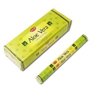 HEM Aloe Vera (へム アロエベラ) / お香(スティック)/ インド香 / インセンス / アロマ / 6角(20本)×6箱 / I-I-H-107|asian-dream-net