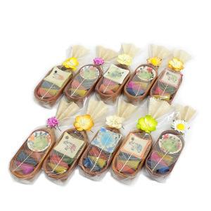 コーンタイプのお香とカワイイお香立てのセットが10個!ギフトにも◎ / コーンタイプお香&お香立てセット / T-I-6|asian-dream-net