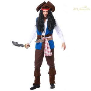 コスプレ 海賊 ハロウィン用品 衣装 仮装 大きいサイズ 変装 大人用 勇士 コスプレ 舞台衣装 セ...
