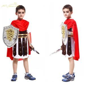 ハロウィン 子供 男の子 ローマの戦士のコスチューム Halloween プリンスコスチューム 変装...