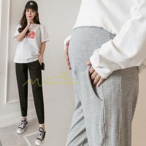 マタニティ 服 マタニティパンツ スウェットパンツ ジョガーパンツ チノパンツ 綿パンツ 妊娠 産前産後 妊婦 ゆったり お腹楽チン ママ 部屋着 調整 柔らか|asian-store