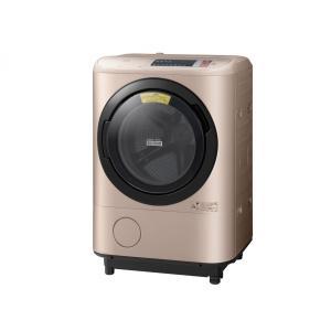 BD-NX120AL-N(左開き・シャンパン) 日立 ヒートリサイクル ビッグドラム洗濯乾燥機|asiandirect