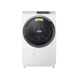 BD-SG100AL-W(左開き・ホワイト) 日立 ヒートリサイクル風アイロン ビッグドラム洗濯乾燥機|asiandirect