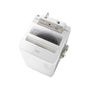 NA-FA80H5-W パナソニック 8キロ 簡易乾燥洗濯機 2017年モデル【地域限定設置無料】|asiandirect