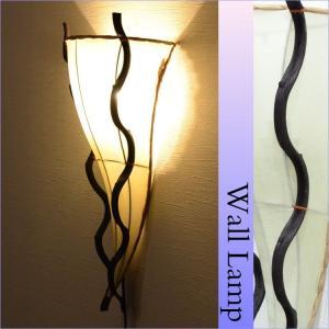 壁掛けランプ (LED対応) 布×リアナ 三角ウォールアジアンランプ ホワイト LAM-0110-WH|asianlamp-cahaya