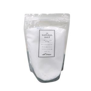 バリの天然塩 ミネラルたっぷりのお徳用1kgX2袋セット天日塩 (料理、入浴、バスソルトに)|asianlife