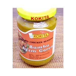 ブンブ アヤムゴレン(鶏の唐揚げの素)瓶入り350g(業務用) ハラル認証|asianlife