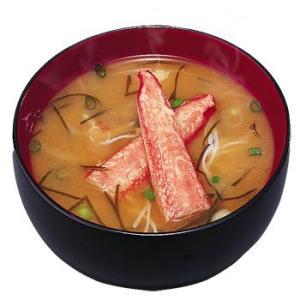 アマノフーズ 味噌汁 北海道みそ(かに汁) 10袋 (フリーズドライ みそ汁)