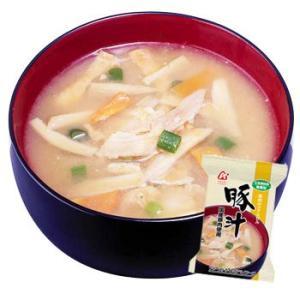アマノフーズ フリーズドライ 味噌汁 無添加  豚汁 とん汁  10袋|asianlife