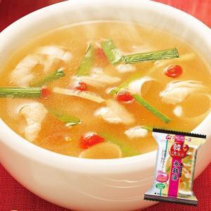 アマノフーズ フリーズドライ スープ 韓国参鶏湯(サムゲタン) 10袋 (韓国料理)