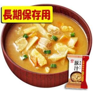 アマノフーズ フリーズドライ 味噌汁 長期保存用 豚汁のおみそ汁 14g × 6袋
