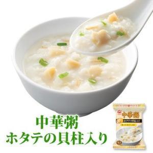 アマノフーズ フリーズドライ おかゆ 中華粥 ホタテの貝柱 16.5g×4食セット