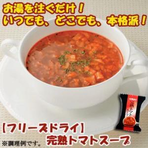 キリン協和フーズ フリーズドライ 完熟 トマトスープ 10袋セット(インスタントスープ)|asianlife