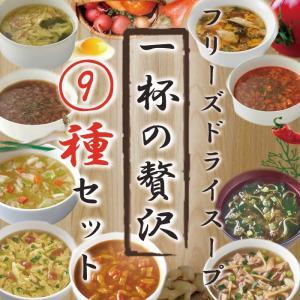 一杯の贅沢 フリーズドライスープ9種18食アソートセット フリーズドライ食品|asianlife