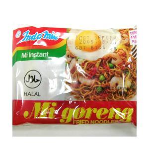 インドミー ミーゴレン (インドネシアのインスタント焼きそば) 40袋セット ハラル認証食品|asianlife