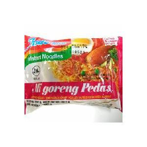 激辛ミーゴレン(インドミー)5袋セット、辛口バリ風焼きそば インドネシアのインスタントやきそば|asianlife