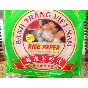 ベトナム 生春巻き(ライスペーパー22cm、250g)約20枚強(タイ料理、ベトナム料理)|asianlife