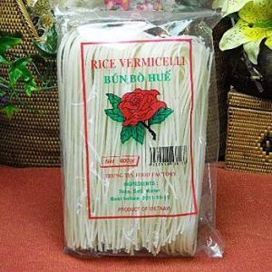 (ベトナムブン) ブン・ボー・フエ400gX30袋(ライスヌードル/グルテンフリーの麺・ベトナム料理に)|asianlife