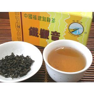 鉄観音茶(テッカンノン茶)高級125g箱入り(中国茶、業務用)|asianlife