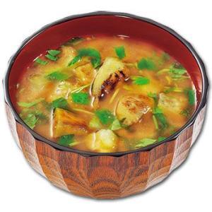 フリーズドライ 無添加 味噌汁 炭火かほる焼きなすのおみそ汁 10袋 コスモス食品|asianlife