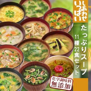 フリーズドライ食品 しあわせいっぱいスープセット11種22食セット 化学調味料無添加 コスモス食品|asianlife