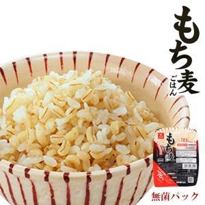 もち麦ごはん レトルト無菌パック150g はくばく (大麦レトルトご飯)|asianlife